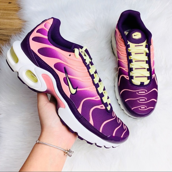 Nike Air Max Plus TN Pink Citron Purple NWT